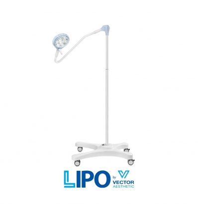 SATURNO OPERATING LED LIGHT - trolley with battery