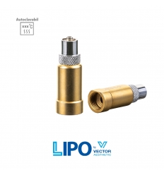 Adaptor canula cu filet la sistem luer lock