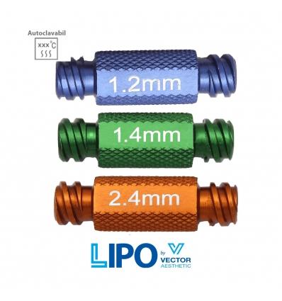 Adaptor transfer luer lock